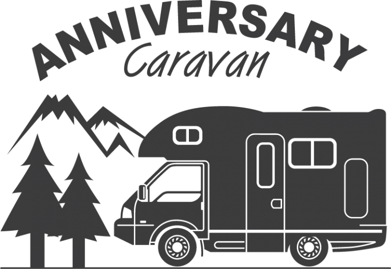 Anniversary Caravan Logo